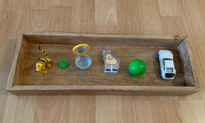 La canasta de cuentos - método Montessori