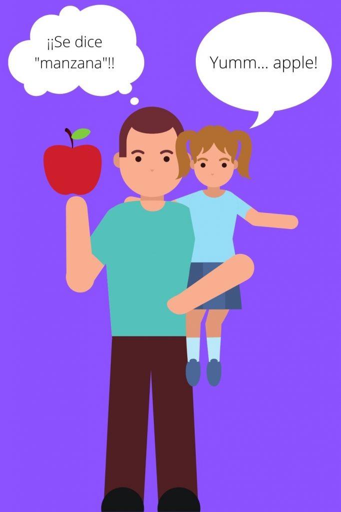 cómo educar a hijos bilingües